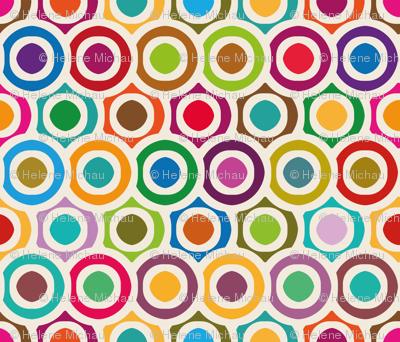 Colored circles