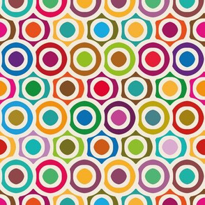 Colored circles