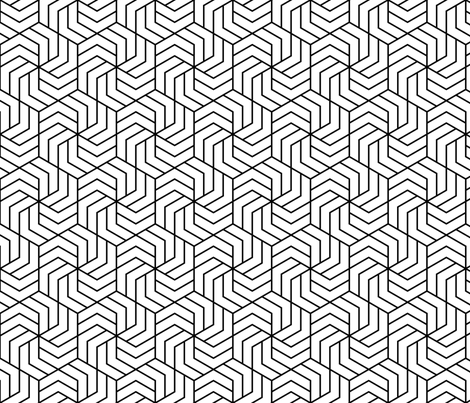 02553263 : chevron 6 in 2 fabric by sef on Spoonflower - custom fabric
