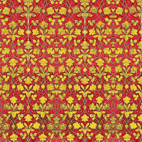 Crimson Vine fabric by amyvail on Spoonflower - custom fabric