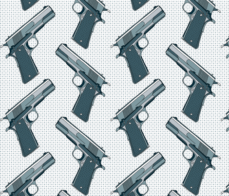 They Made Me A Killer fabric by louisehenderson on Spoonflower - custom fabric