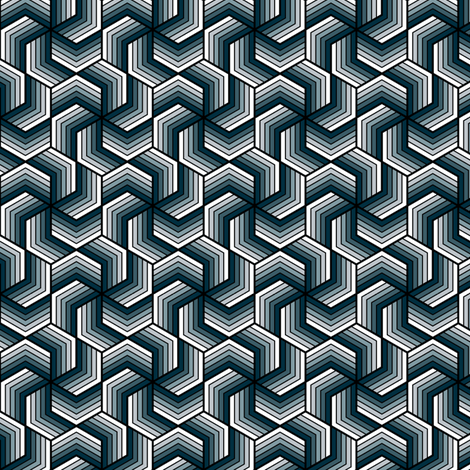 chevron 6 in 5 fabric by sef on Spoonflower - custom fabric
