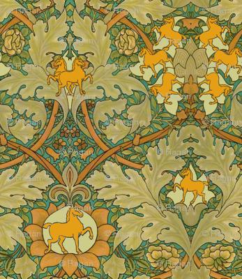 William Morris' Autumn Horses
