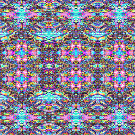 Ice Faces 3 fabric by mugglz on Spoonflower - custom fabric