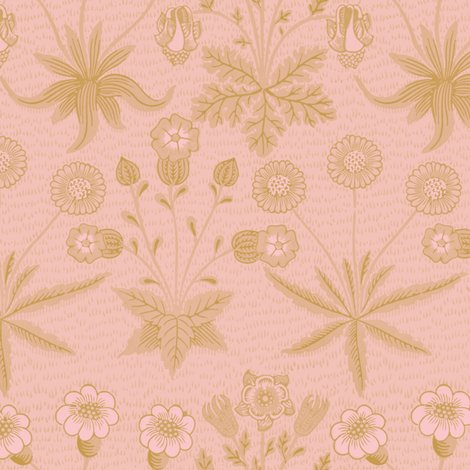 Rdaisy__new__william_morris___gilt_on_dauphine___peacoquette_designs___copyright_2015_shop_preview