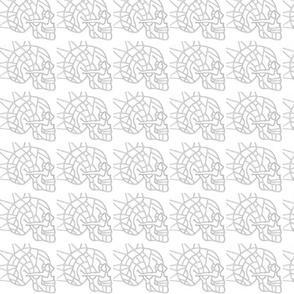 Spiked Skull Map (design 1)