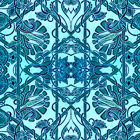 Made in the Shade Brocade fabric by edsel2084 on Spoonflower - custom fabric
