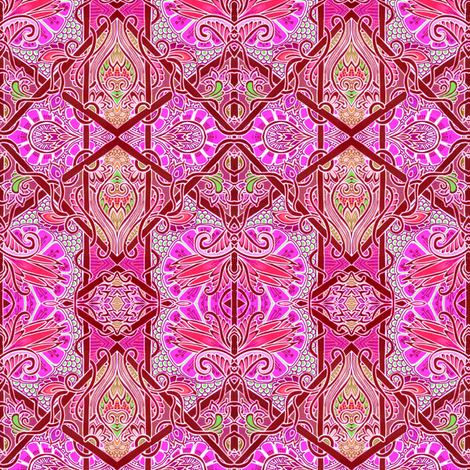 Jazz Age Fandango fabric by edsel2084 on Spoonflower - custom fabric
