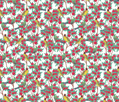 Scenic Birds fabric by lydia_meiying on Spoonflower - custom fabric