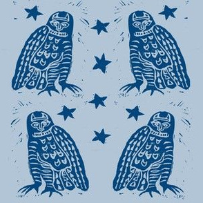 Lapis owls in Twilight