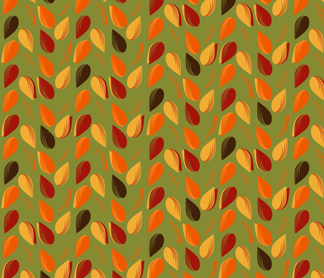 Pattern_Fall_Leaves_-04 fabric by meatkins on Spoonflower - custom fabric