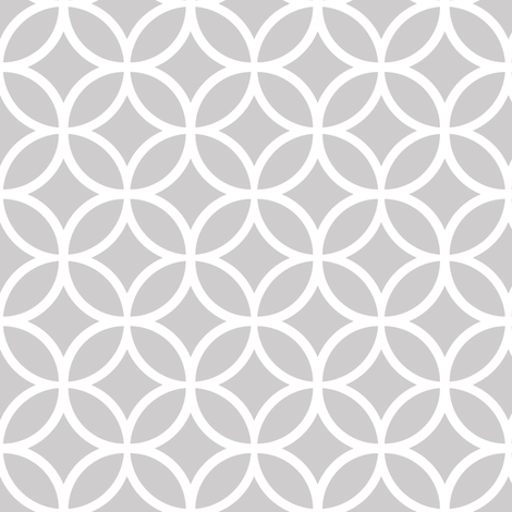 Gray Geometric Diamonds fabric by sweetzoeshop on Spoonflower - custom fabric