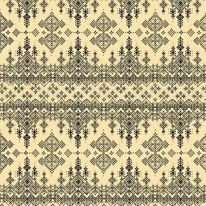 Harquu Stripe in Antique