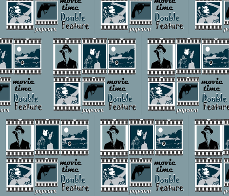 Movies_of_Old fabric by chovy on Spoonflower - custom fabric