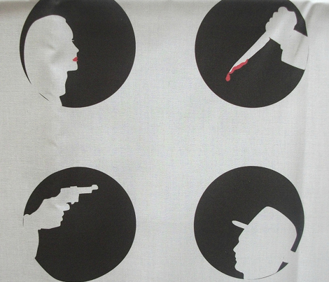 Film Noir Blanc Scarlet