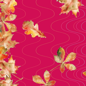 feuille_d_automne_bordure_fuchia_L