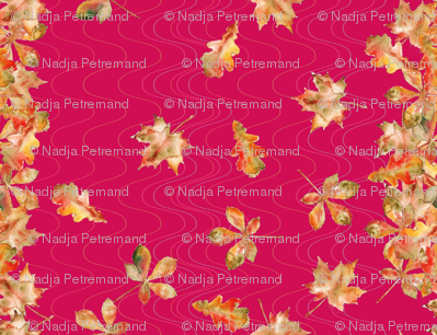 feuille_d_automne_bordure_fuchia_S