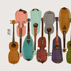 2019 Instrument Collection - Modern