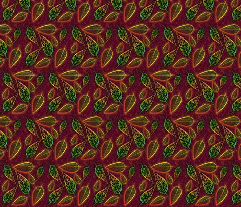 Fall Glow fabric by joonmoon on Spoonflower - custom fabric