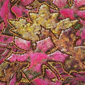 An Applique of Autumn Leaves