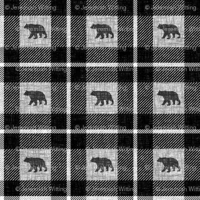 Bear Plaid - small