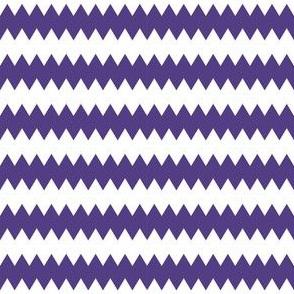 Christmas Zig Zag Purple