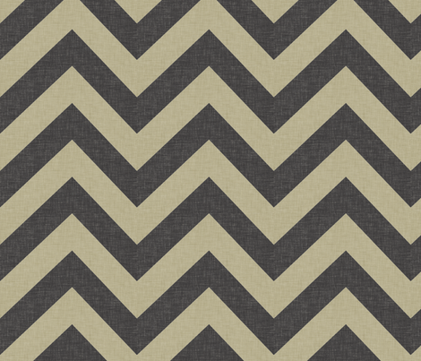 burlap_chevrons_large fabric by holli_zollinger on Spoonflower - custom fabric