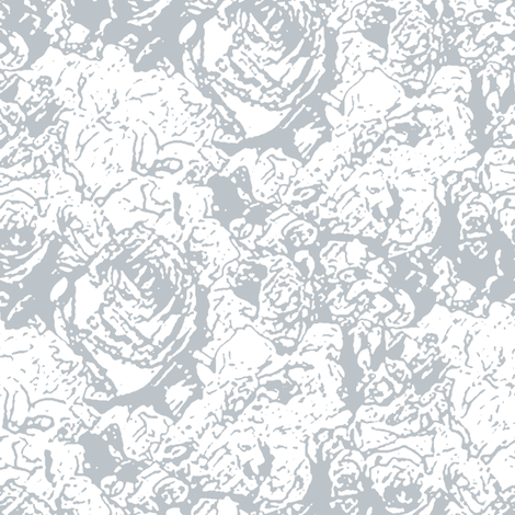 A Faded Rose of the Silver Screen fabric by inscribed_here on Spoonflower - custom fabric