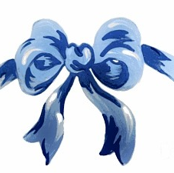cornflower ribbons