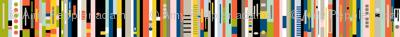 Staxx Spines (Maxi) || books digital geometric library stripes tribal geek computer
