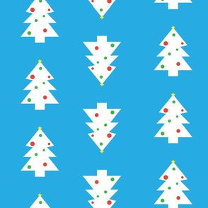 xmas_trees wrapping paper