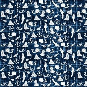 Albin's ghosts blue