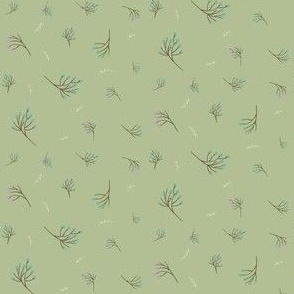 Winter Berry Pattern