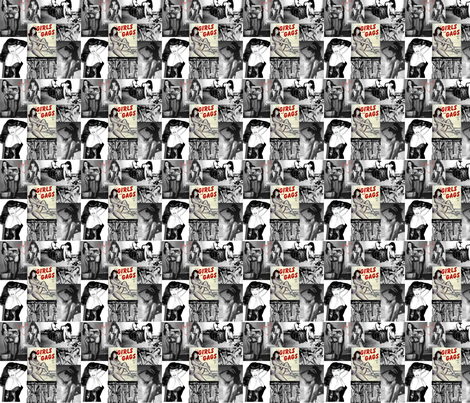 bettie  queen of hearts fabric by candistrange on Spoonflower - custom fabric