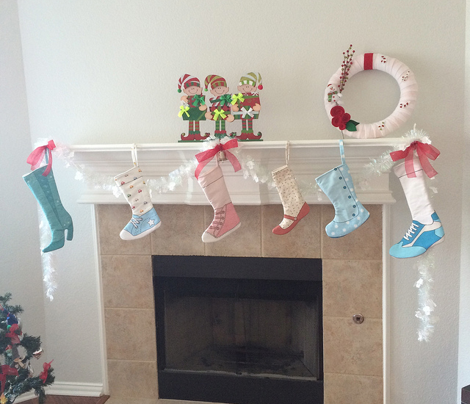 Christmas Stockings Cute & Sew