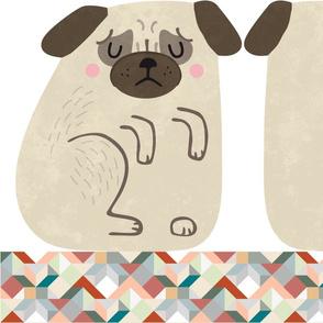 pug cushion