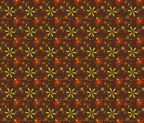 The Colors of Fall fabric by firedryad1 on Spoonflower - custom fabric