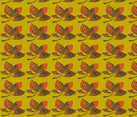 Gold Days fabric by batinka on Spoonflower - custom fabric