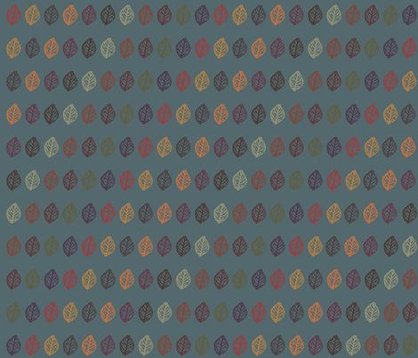 leaves fabric by erijoyjoy on Spoonflower - custom fabric