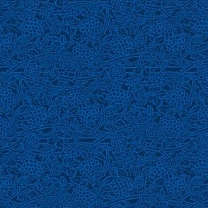 Prussian Blue Concord Brocade