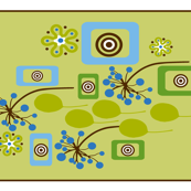 botanicals Tea Towel