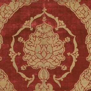 Repeating 16th Century Itailan Velvet
