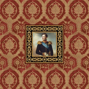 Italian velvet with Nicholas I