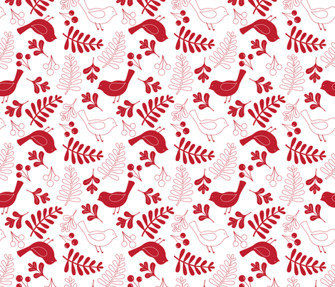 Christmas Stitches fabric by katherinelenius on Spoonflower - custom fabric