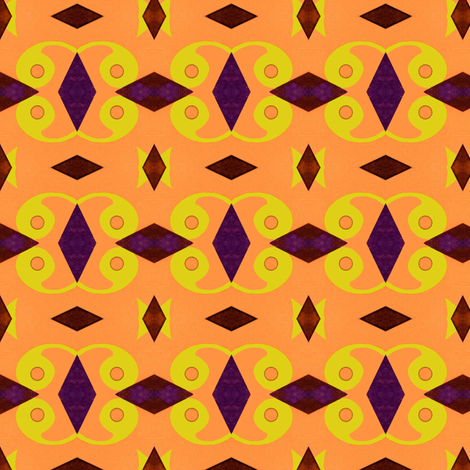 """Mid Century Trippy Zippy"" fabric by elizabethvitale on Spoonflower - custom fabric"