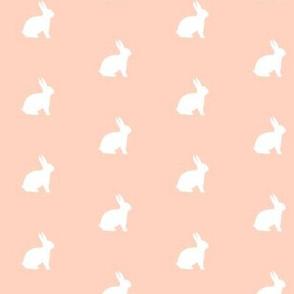 White Bunny Soft Peach