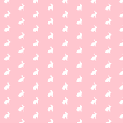 White Bunny Pink