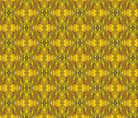 Kaleidoscope_-_yellow_tree_-_crop_-_jpeg fabric by frieze_d'origine on Spoonflower - custom fabric