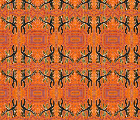 Bush_Fire fabric by laura_bowen on Spoonflower - custom fabric