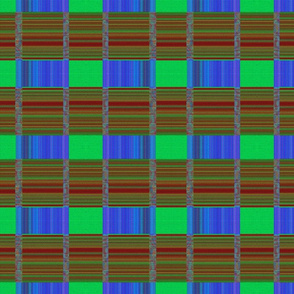 Stitched Mosaic Webbing